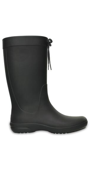 Crocs Freesail Rain Boots Women Black